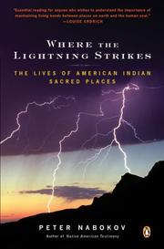 Cover of: Where the Lightning Strikes