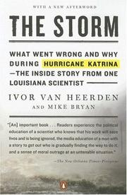 Cover of: The Storm | Ivor van Heerden