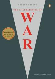 Cover of: The 33 Strategies of War | Robert F. Greene
