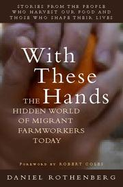 Cover of: With these hands | Daniel Rothenberg