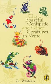 Cover of: Boastful Centipede and Other Creatures in Verse