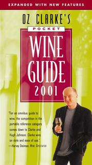 Cover of: Oz Clarke's Pocket Wine Guide 2001
