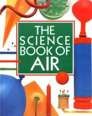 Cover of: The science book of air
