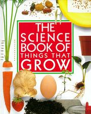 Cover of: The Science Book of Things That Grow
