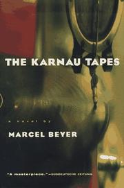 Cover of: The Karnau tapes | Marcel Beyer