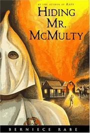 Cover of: Hiding Mr. McMulty