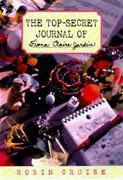 Cover of: The top-secret journal of Fiona Claire Jardin