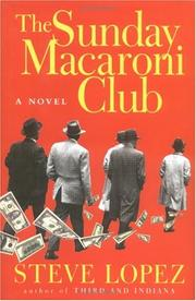 Cover of: The Sunday Macaroni Club