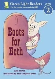 Cover of: Boots for Beth (Green Light Readers Level 2) | Alex Moran