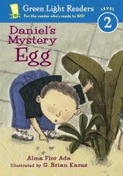 Cover of: Daniel's Mystery Egg
