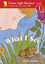 Cover of: What I See