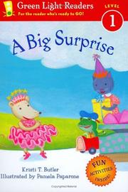 Cover of: A big surprise