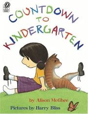 Cover of: Countdown to Kindergarten | Alison McGhee