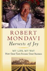 Cover of: Harvests of joy