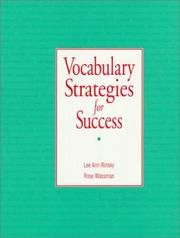 Cover of: Vocabulary strategies for success