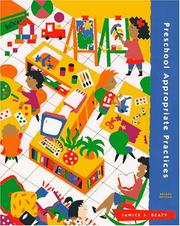 Cover of: Appropriate Practices in Preschool Programs | Janice J. Beaty