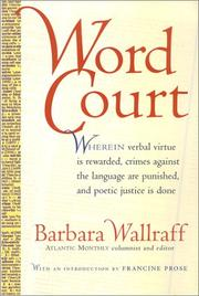 Cover of: Word court
