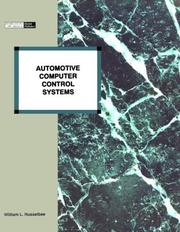 Cover of: Automotive Computer Control Systems | William L. Husselbee
