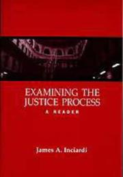 Cover of: Examining the justice process |
