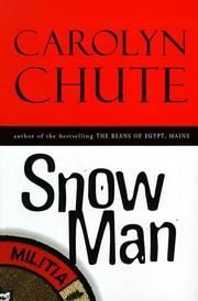 Cover of: Snow man