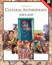 Cover of: Cultural anthropology | William A. Haviland