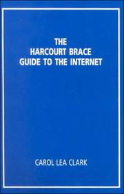Cover of: The Harcourt Brace guide to the Internet