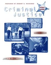 Criminal Justice by James A. Inciardi