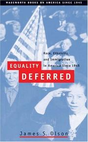 Cover of: Equality Deferred