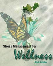 Cover of: Stress Management for Wellness | Schafer