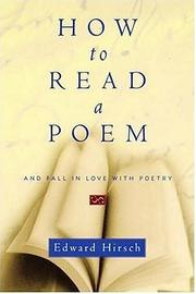 Cover of: How to read a poem: And Fall in Love with Poetry