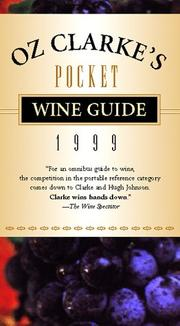 Cover of: Oz Clarke's Pocket Wine Guide 1999