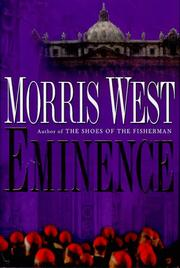 Cover of: Eminence | Morris West