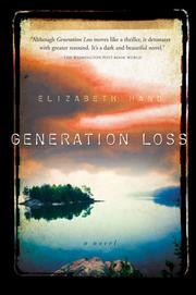 Cover of: Generation loss: a novel