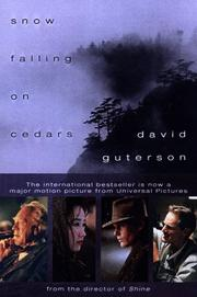 Cover of: Snow Falling on Cedars by David Guterson