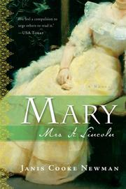 Cover of: Mary | Janis Cooke Newman