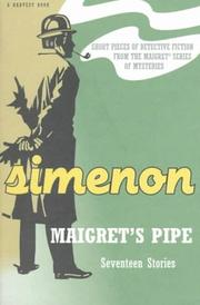 Pipe de Maigret by Georges Simenon