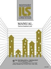 Cover of: Independent living scales (ILS) manual