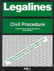 Cover of: Legalines | Robert A. Wyler