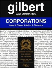 Cover of: Gilbert Law Summaries | Jesse H. Choper
