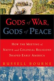 Cover of: Gods of war, gods of peace