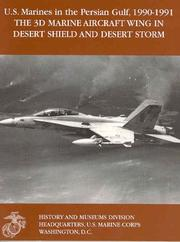 Cover of: The 3d Marine Aircraft Wing in Desert Shield and Desert Storm
