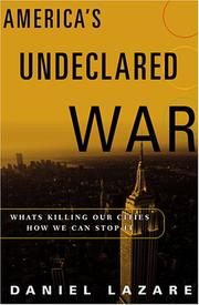 Cover of: America's Undeclared War