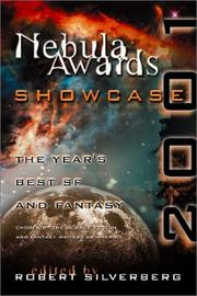Cover of: Nebula Awards Showcase 2001: The Year's Best SF and Fantasy Chosen by the Science Fiction and Fantasy Writers of America