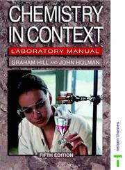 Cover of: Chemistry in Context by Graham Hill, John S. Holman