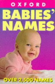 Cover of: Naming your baby