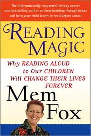 Cover of: Reading Magic: Why Reading Aloud to Our Children Will Change Their Lives Forever
