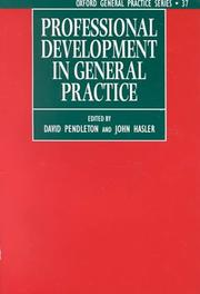 Cover of: Professional development in general practice |