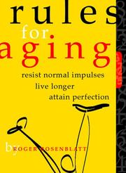 Cover of: Rules for aging