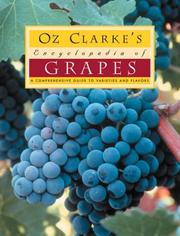 Cover of: Oz Clarke's encyclopedia of grapes