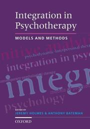 Cover of: Integration in psychotherapy by
